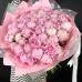51 нежно-розовый пион