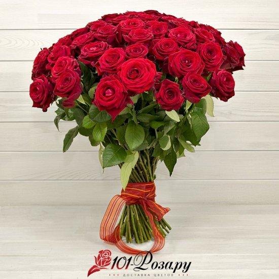 Букет из 41 красной розы Рэд Наоми (50 см)